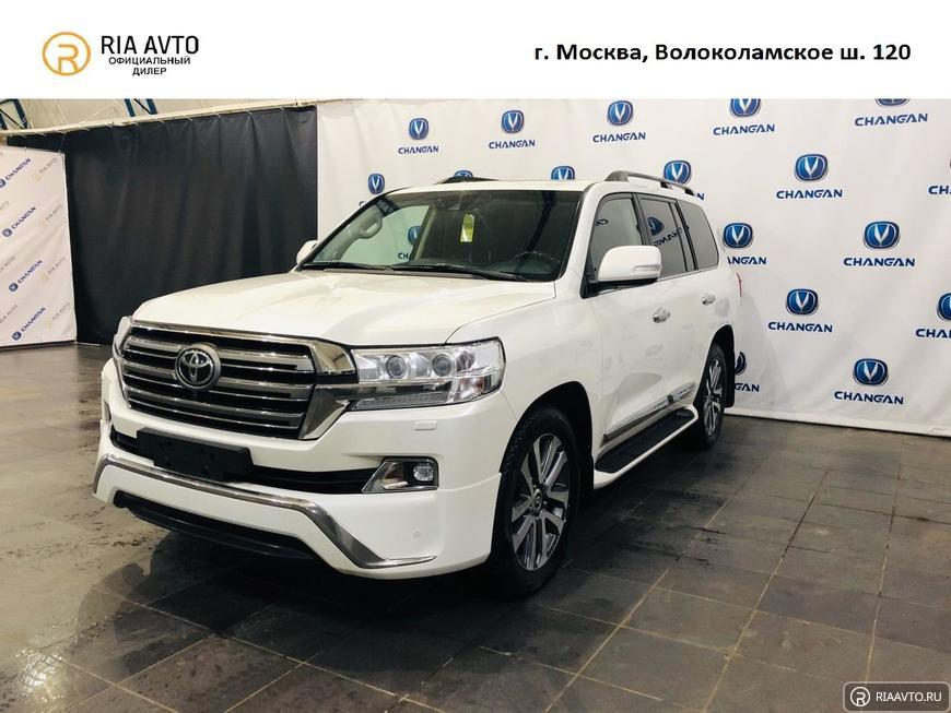 Toyota Land Cruiser с пробегом